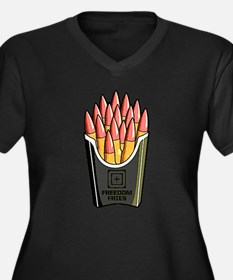 Freedom Fries Plus Size T-Shirt