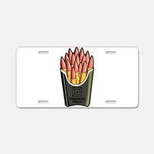 Freedom Fries Aluminum License Plate