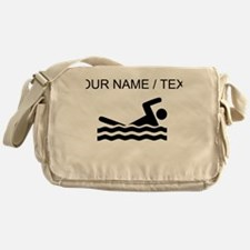 Custom Swimming Messenger Bag