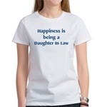 Daughter In Law : Happiness Women's T-Shirt