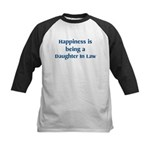 Daughter In Law : Happiness Kids Baseball Jersey