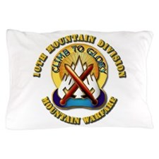Emblem - 10th Mountain Division - DUI Pillow Case