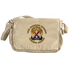 Emblem - 10th Mountain Division - DUI Messenger Ba
