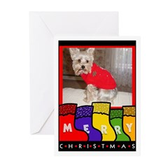 YORKSHIRE TERRIER CHRISTMAS Cards (Pk of 10)
