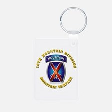 Emblem - 10th Mountain Division - SSI Keychains