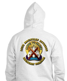 Emblem - 10th Mountain Division - SSI Hoodie