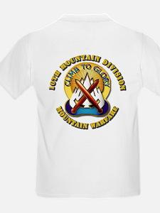 Emblem - 10th Mountain Division - SSI T-Shirt