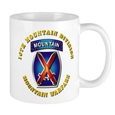 Emblem - 10th Mountain Division - SSI Mug