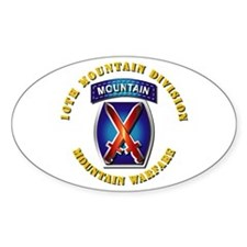 Emblem - 10th Mountain Division - SSI Decal
