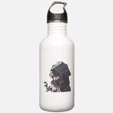 Flatcoated retriever PerryBGC Water Bottle
