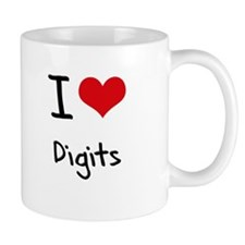 I Love Digits Mug