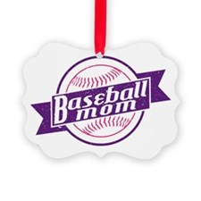 Baseball Mom Ornament