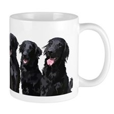 flatcoated retrievers Mug