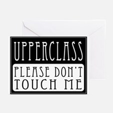Upperclass Greeting Cards (Pk of 10)
