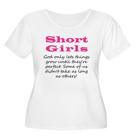 Short Girls Plus Size T-Shirt