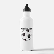 Custom Soccer Ball Water Bottle