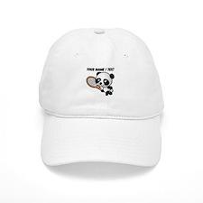 Custom Panda Tennis Player Baseball Baseball Cap