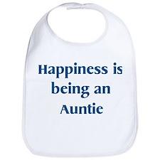 Auntie : Happiness Bib