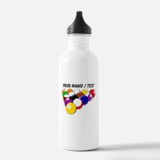 Custom Eight Ball Rack Water Bottle