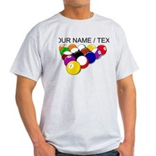 Custom Eight Ball Rack T-Shirt