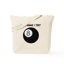 Custom Eight Ball Tote Bag
