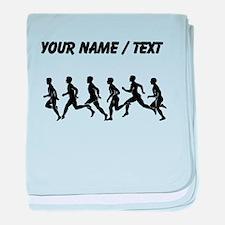 Custom Runners baby blanket