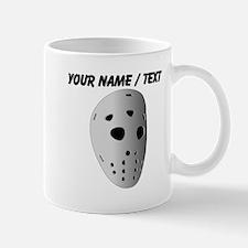 Custom Retro Hockey Goalie Mask Mug