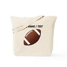 Custom Football Tote Bag