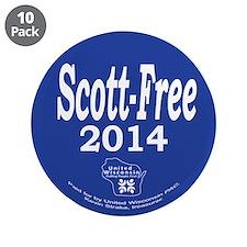 "Scott-Free 2014 3.5"" Button (10 pack)"