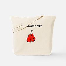Custom Boxing Gloves Tote Bag