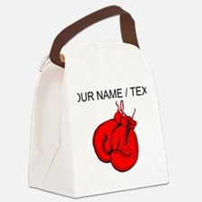 Custom Boxing Gloves Canvas Lunch Bag