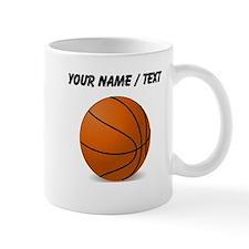 Custom Orange Basketball Mug