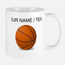 Custom Orange Basketball Mug
