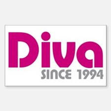 Diva Since 1994 Decal
