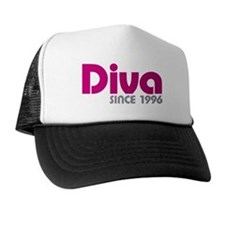 Diva Since 1996 Trucker Hat