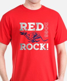 Red Dogs Rock T-Shirt