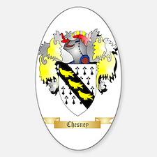Chesney Sticker (Oval)