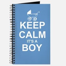 Keep Calm It's A Boy Journal