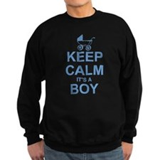 Keep Calm It's A Boy Sweatshirt