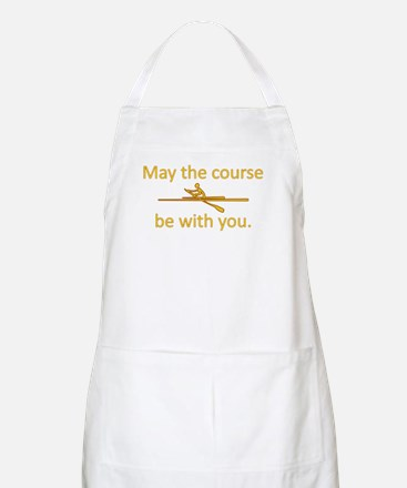 May the course be with you - ROWING Apron