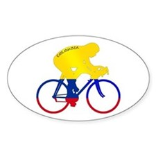 Colombian Cycling Decal