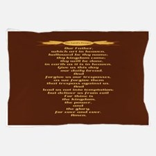 The Lords Prayer Wheat Pillow Case