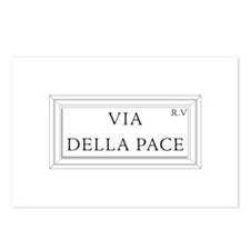 Via della Pace, Rome - Italy Postcards (Package of