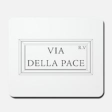 Via della Pace, Rome - Italy Mousepad