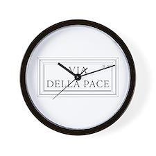 Via della Pace, Rome - Italy Wall Clock