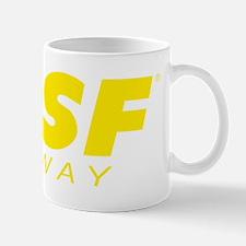 SPSF Railway Modern Herald Yellow Mug