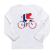 Norwegian Cycling Long Sleeve Infant T-Shirt