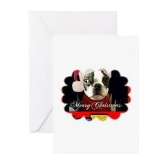 MERRY CHRISTMAS BOSTON Cards (Pk of 10)