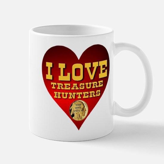 I Love Treasure Hunters Mug