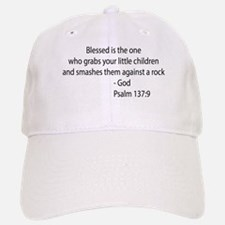 psalm 137.9 black Baseball Baseball Baseball Cap